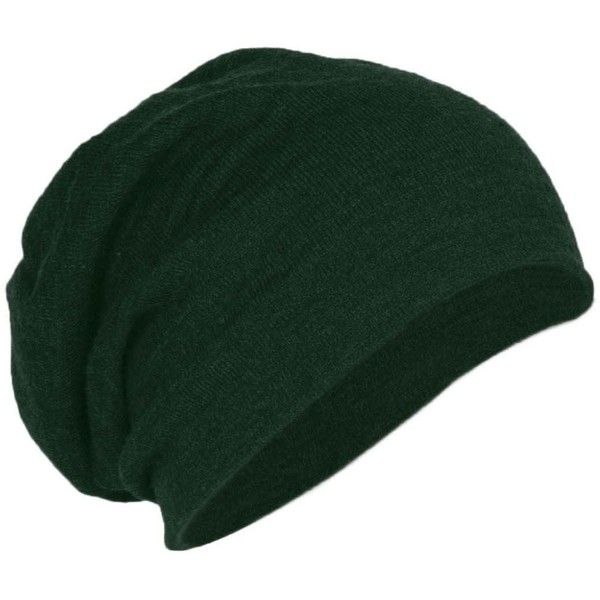 94b0633a6d8 District Threads DT618 Slouch Beanie Forest Green Heather OSFA (€7 ...