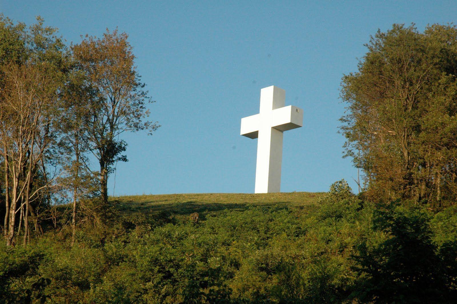 Cross On A Hill Crosses Beautiful Crosses Beautiful