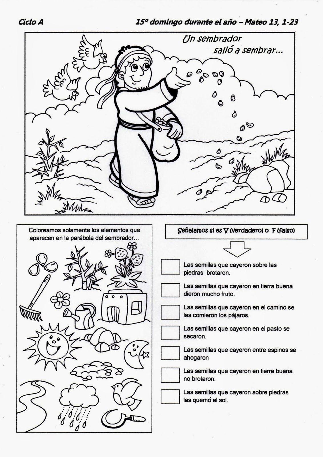 El Rincón de las Melli | T.bíblicas | Pinterest | Dominical, Escuela ...