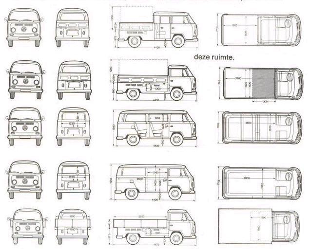 vw vanagon interior dimensions. Black Bedroom Furniture Sets. Home Design Ideas
