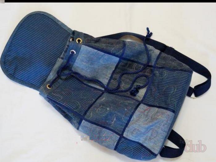 c1808568f6f9 Что можно сделать из старых джинсов? Как сшить сумку, рюкзак, юбку, шорты