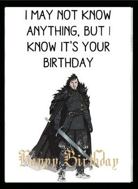 Pin De Cyberbargins En Game Of Thrones Birthday Cards Etiquetas