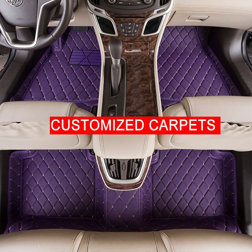 floor sonata foot fe pin hyundai santa for solaris elantra customized car case mats