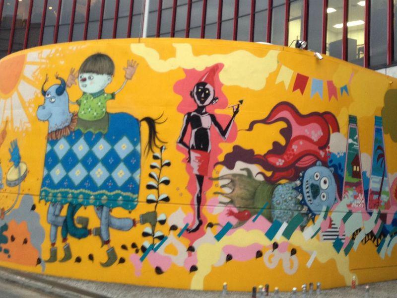 """O musical """"Rita"""", que tem como fio condutor as músicas de Rita Lee e estreia na cidade em abril, fará um concurso de grafites para escolha da obra que irá compor o cenário da peça."""
