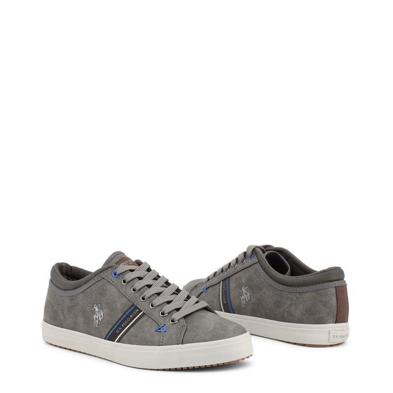 Polo Men Grey Sneakers U.S