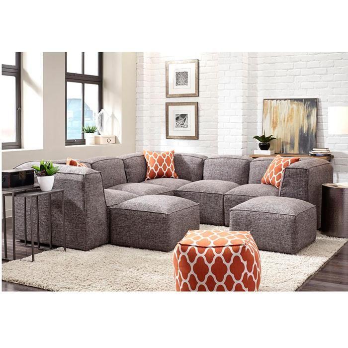 Freestyle 5-Piece Sectional in Steel Gray | Nebraska Furniture Mart  sc 1 st  Pinterest : nebraska furniture mart sectional sofas - Sectionals, Sofas & Couches