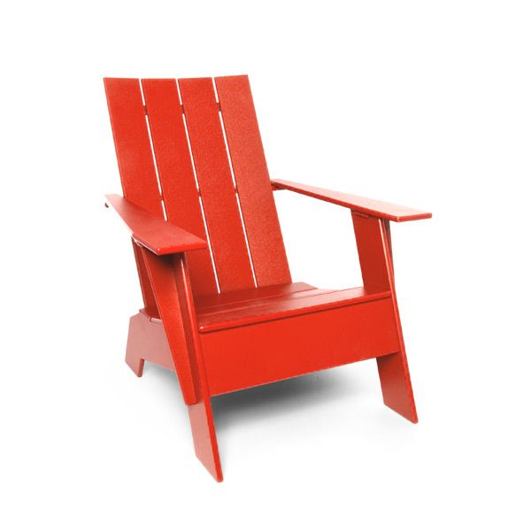 Recycled Plastic Adirondack Chair