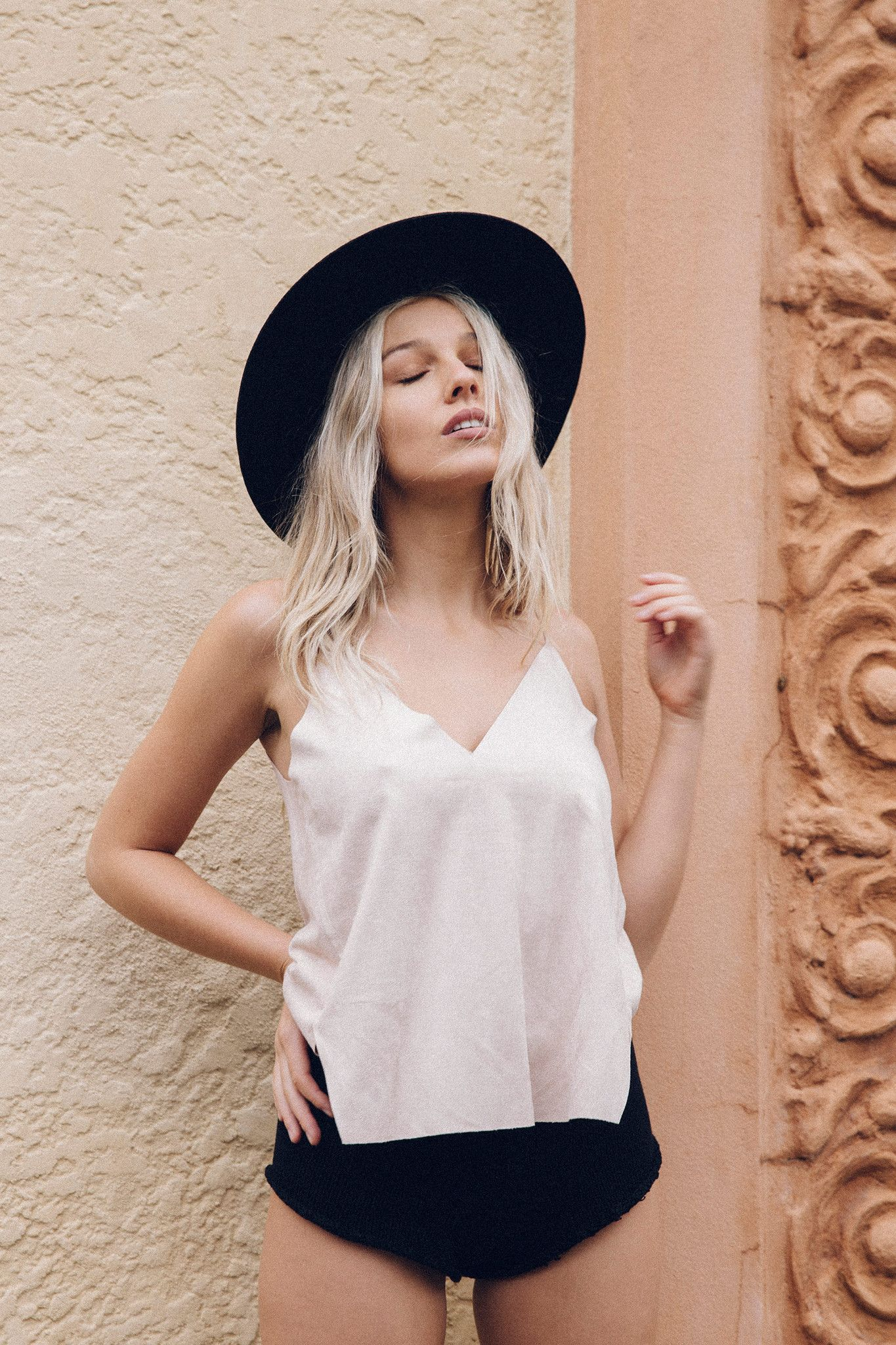 571bb3fcdde Suede Mink Cami Top - Women s Clothing  amp  Fashion Online – Style Addict  White Summer