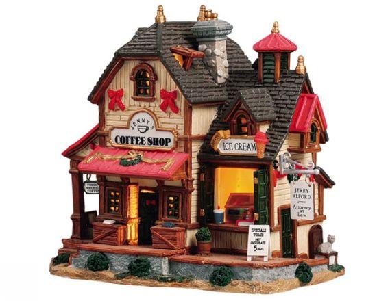 Jenny's Coffee Shop Ice Cream Parlor
