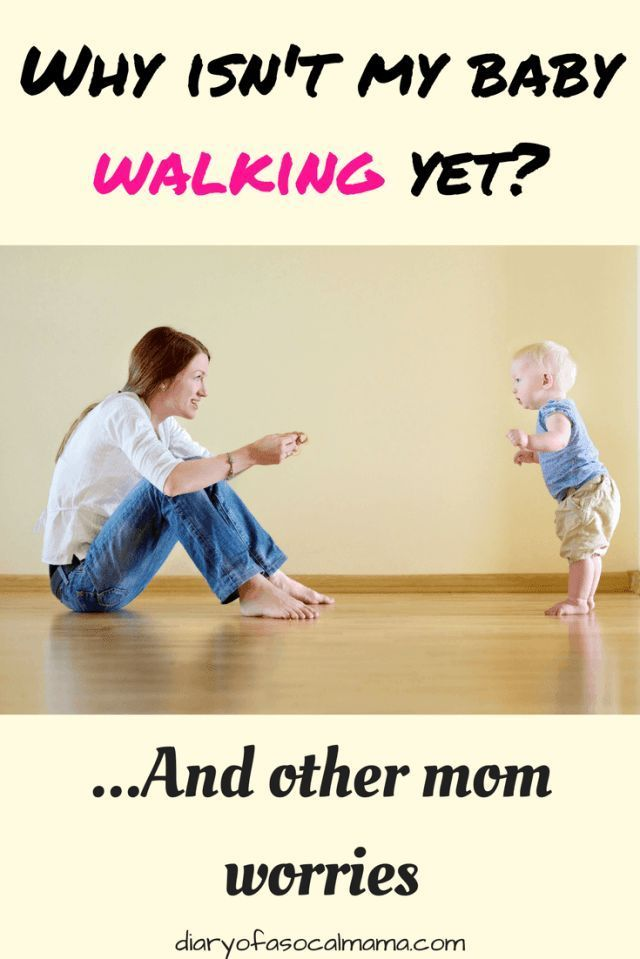 When should my baby walk  and other mom worries