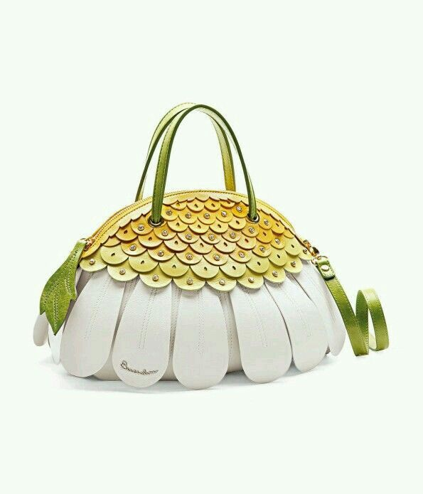 Daisy Purse With Images Funky