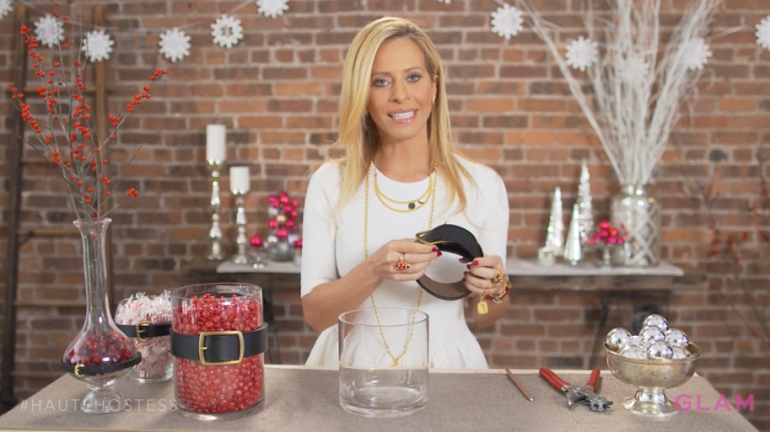 If you thought we were done with DIY centerpieces, think again. This time, we called on reality star and interior designer Dina Manzo to show you how to make yours pop!