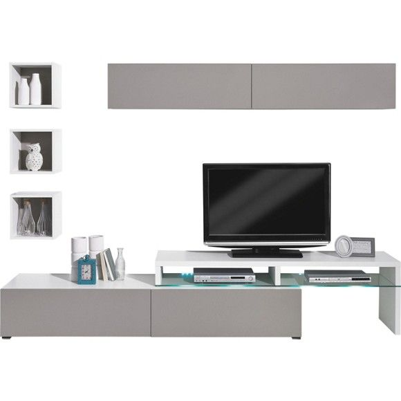die wohnwand colour art von cs schmal ist eine optimale l sung f r ihr wohnzimmer die. Black Bedroom Furniture Sets. Home Design Ideas