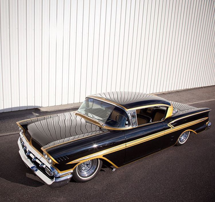 Check Out Momo S Mindblowing 1958 Impala La Watson In The Latest