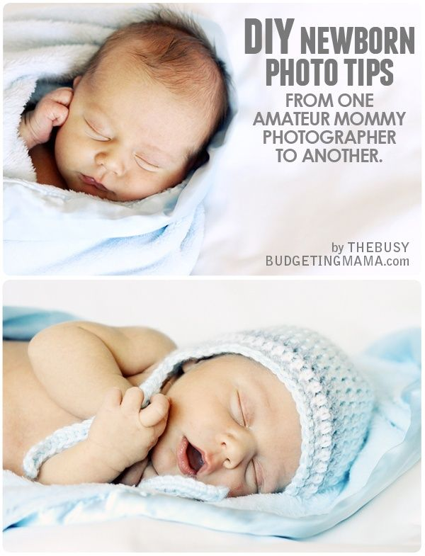 Newborn Pictures Diy
