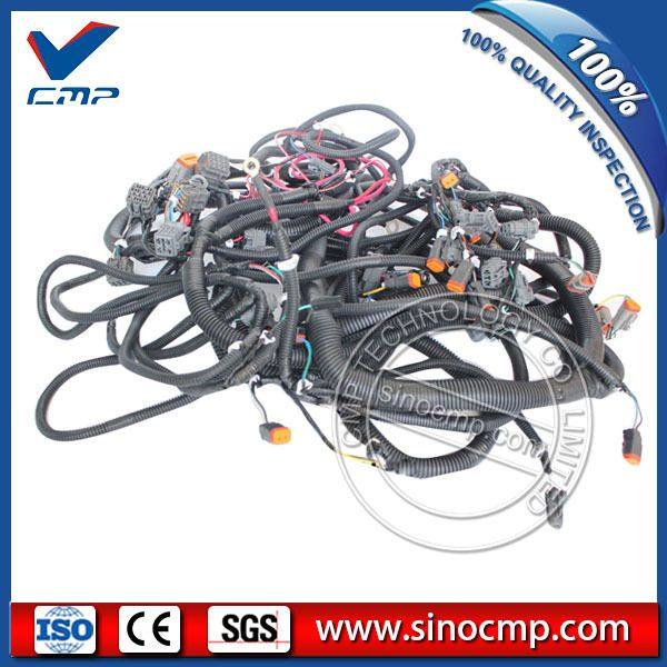 20y 06 22713 Excavator Electronic Throttle External Wiring Harness For Komatsu Pc200 6a Komatsu Excavator Harness