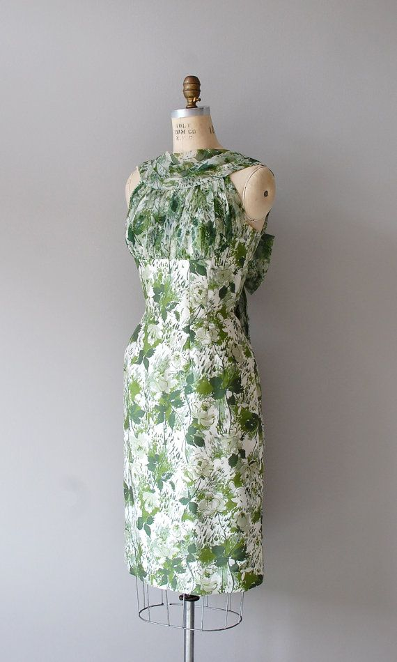 What a lovely dress for St. Patricks day!
