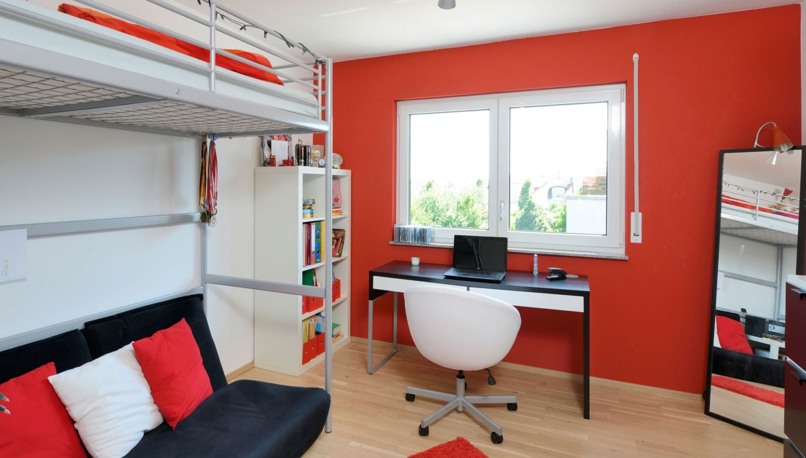 Jugendzimmer Rot Cool Ideen Furs Kinderzimmer Und Jugendzimmer