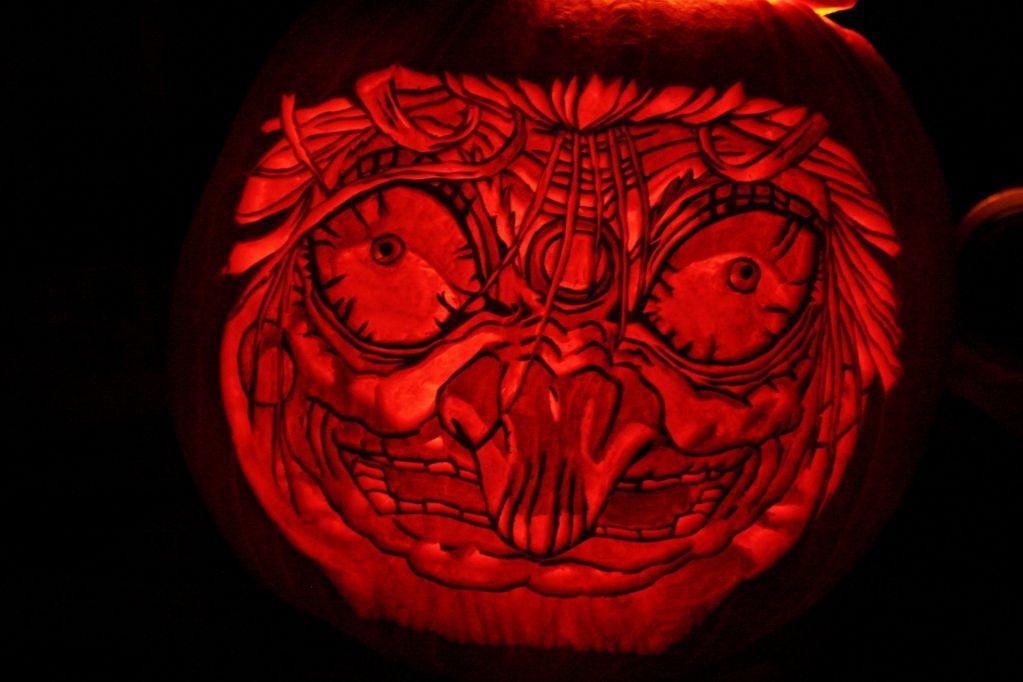Yubaba Jack O Lantern Jack O Lantern Pumpkin Carving Ghibli