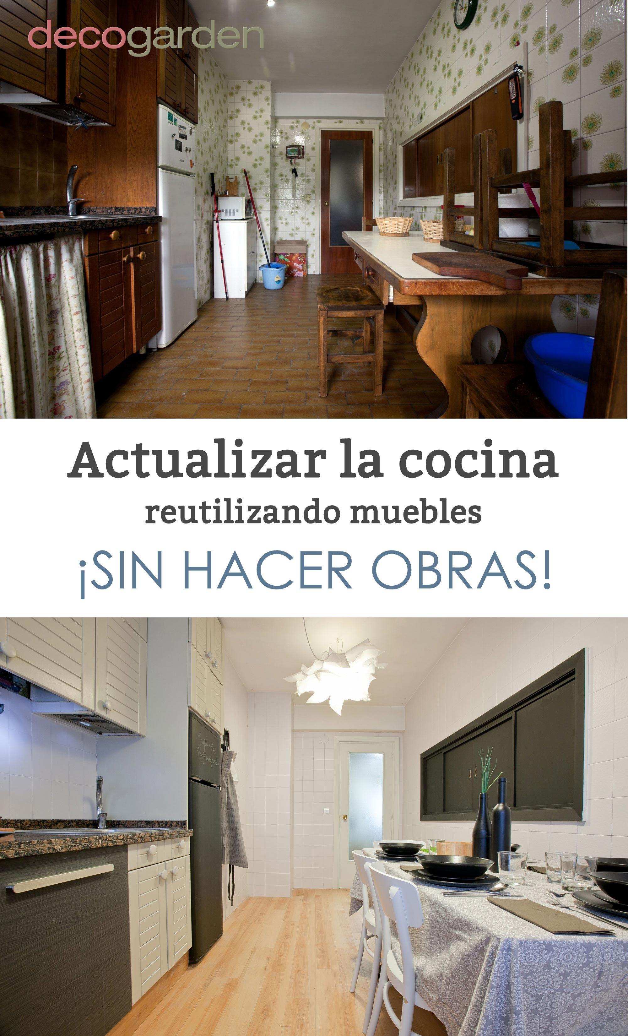 Actualizar la cocina reutilizando muebles   Decoración en ...