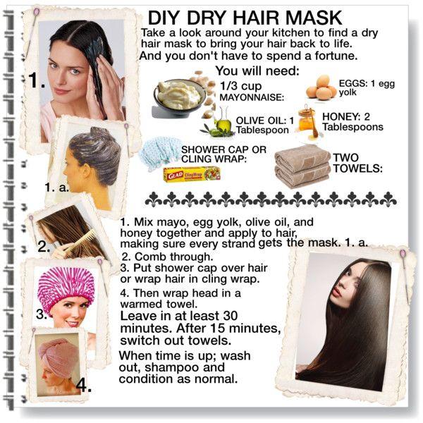 Diy Dry Hair Mask Dry Hair Mask Diy Hair Treatment Dry Hair