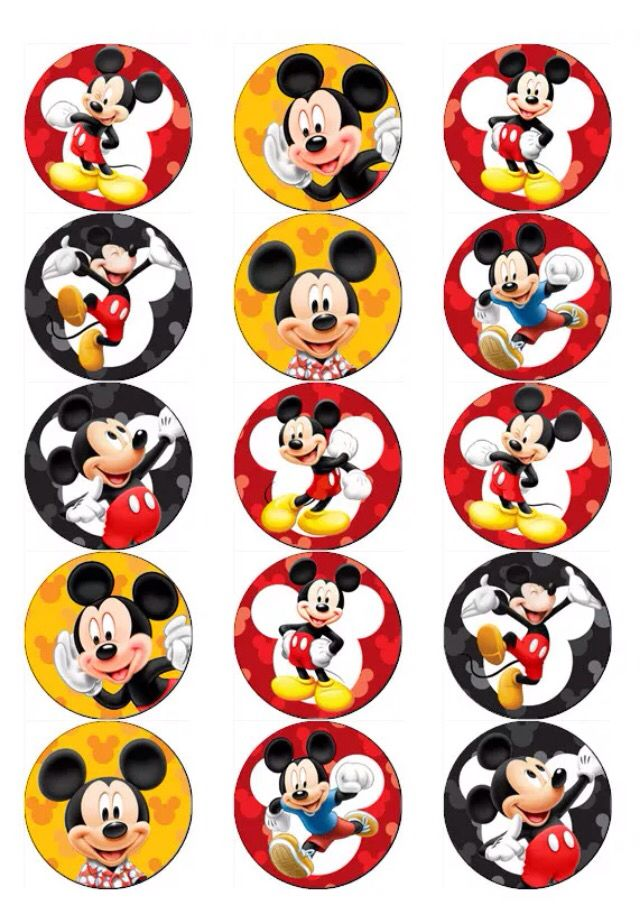 Mickey Mouse Mickey Mouse Birthday Party Pinterest