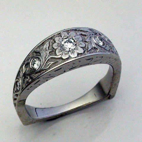 Western Style Wedding Rings Custom Engagements Ringontana Bands