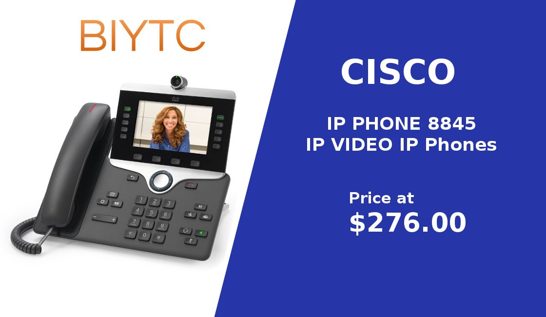 Find great #deals for #Cisco #IP #PHONE 8845 - IP VIDEO IP