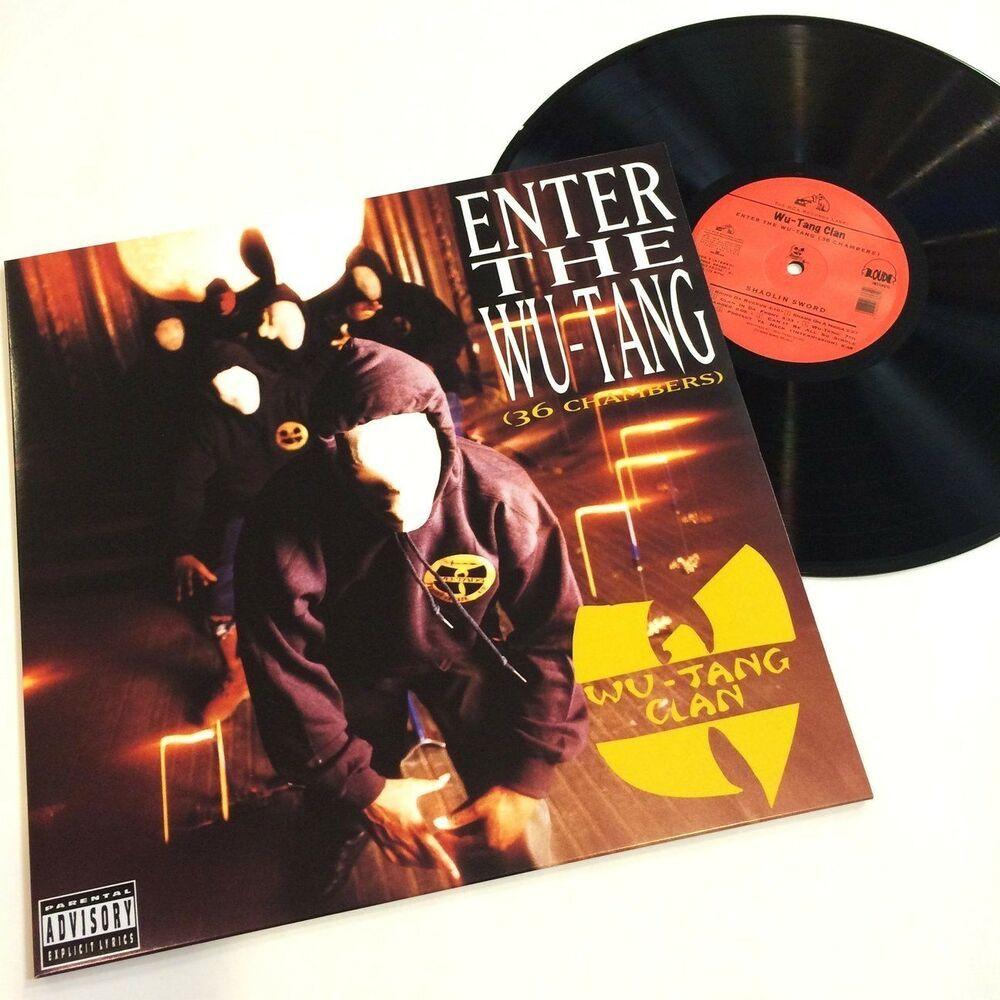 Wu Tang Clan Enter The Wu Tang 36 Chambers In Shrink Lp Vinyl Record Album Vinyl Record Album Lp Vinyl Wu Tang