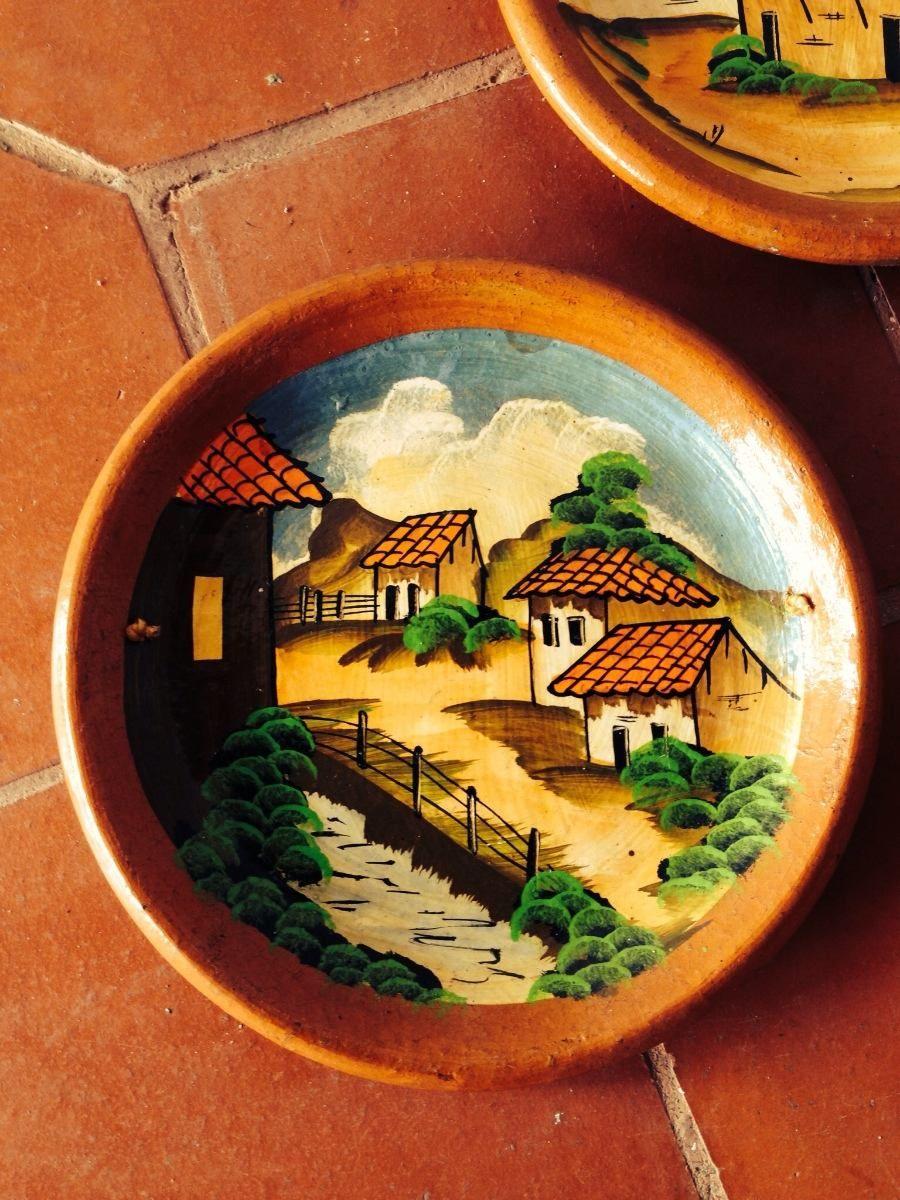 Souvenir dibujado en plato de ceramica google search - Platos de ceramica ...