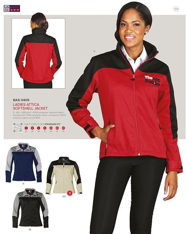 US Basic Softshell Jacket, Branded Jackets South Africa