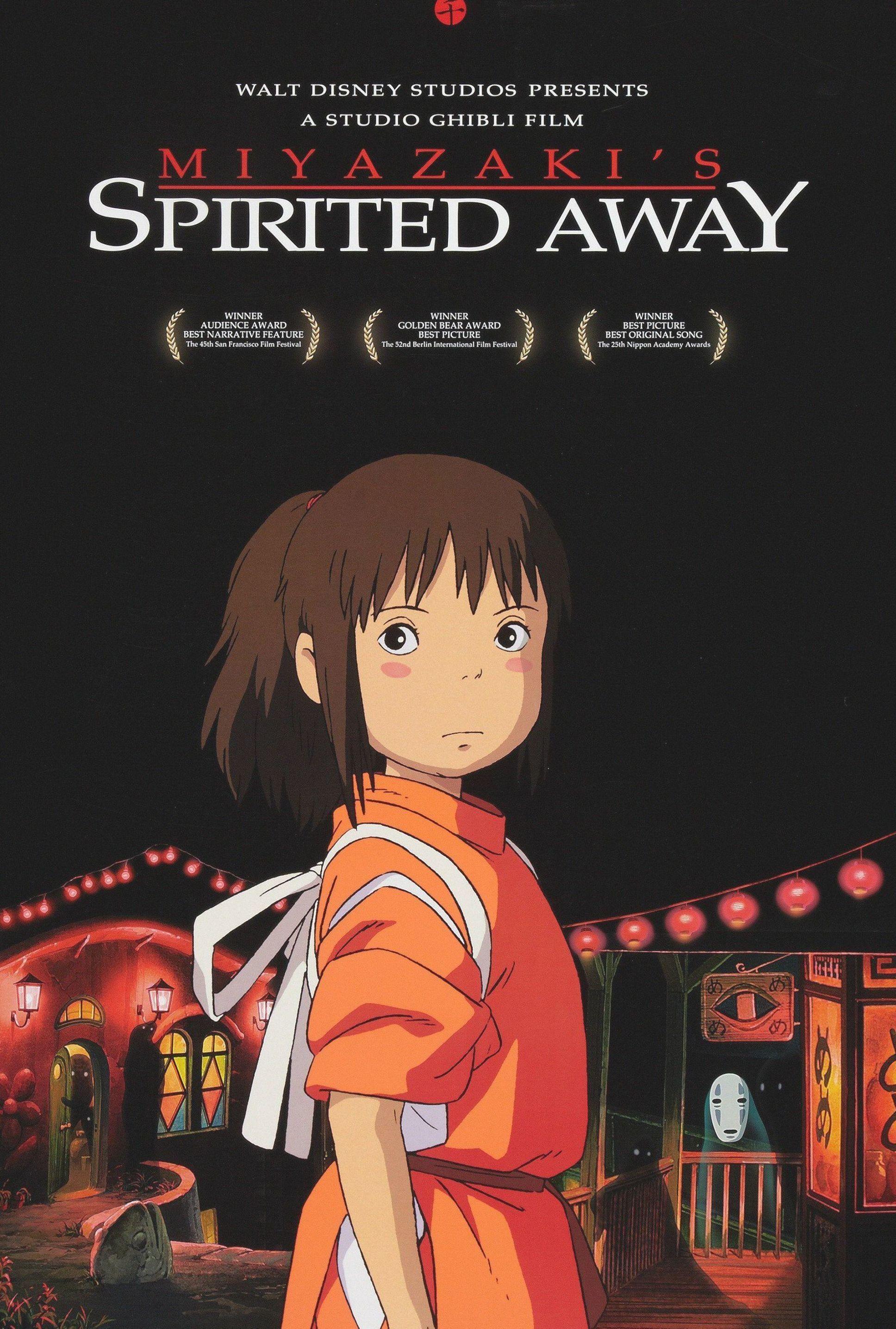 Studio Ghibli Spirited Away Animated Movie Poster Digital Download Studio Ghibli Poster Animated Movie Posters Studio Ghibli Spirited Away Anime movie art wallpaper