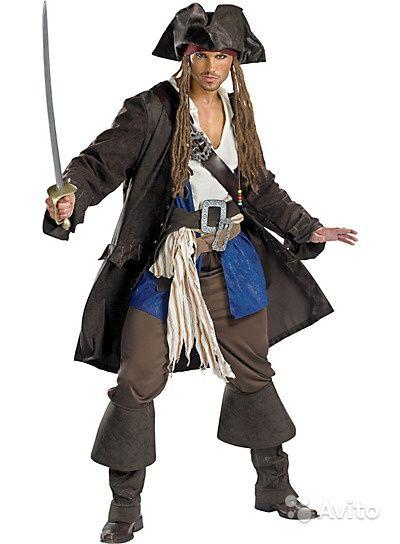 Карнавальный костюм мужской - Пират Джек Воробей купить в ...