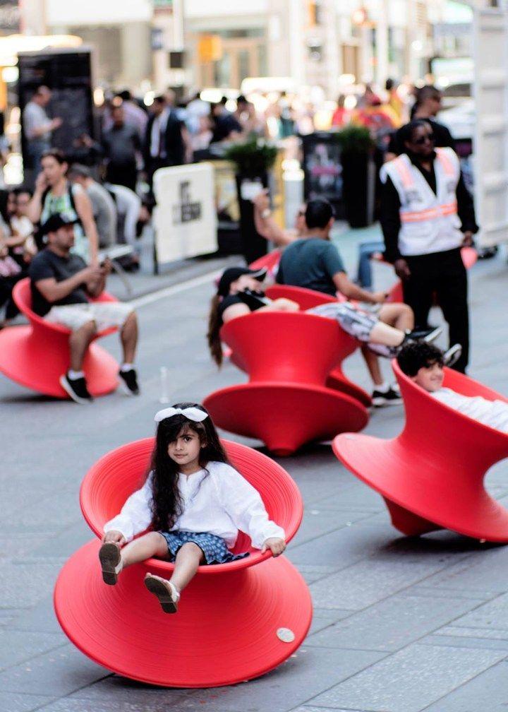 Magis Lands In Times Square Public Space Design Playground Design Magis