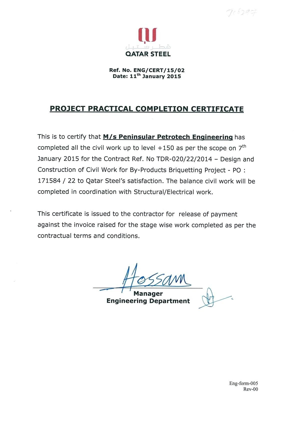 The Amazing 028 Construction Work Order Template Completion Certificate For In 2020 Certificate Of Completion Template Certificate Of Completion Certificate Templates