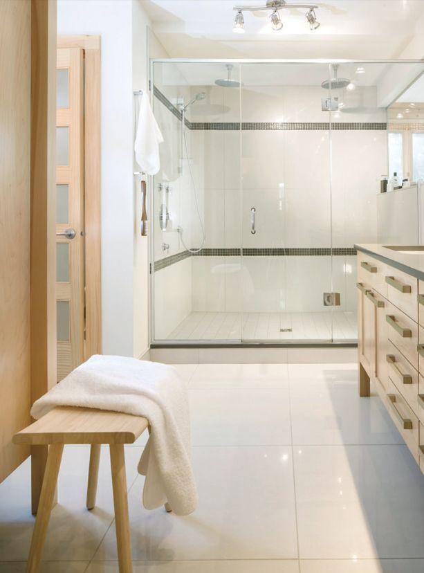 cinq inspirations douches pour r nover la salle de bains