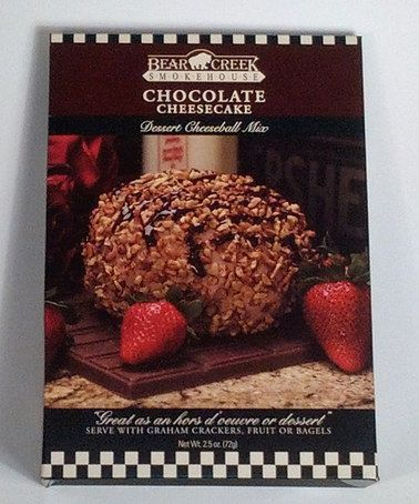 Take a look at this Chocolate Dessert Cheese Ball Mix - Set of Three by Bear Creek Smokehouse on #zulily today!