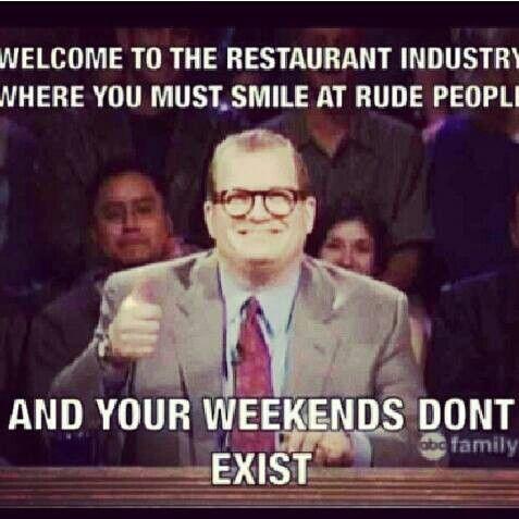 B945587e597d3f7647ddebbc2f8a585a Jpg 477 477 Funny Memes About Work Work Memes Waitress Humor