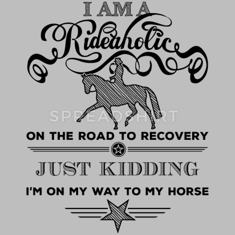 Rideaholic Recovery - Black Edition Frauen Premium Hoodie