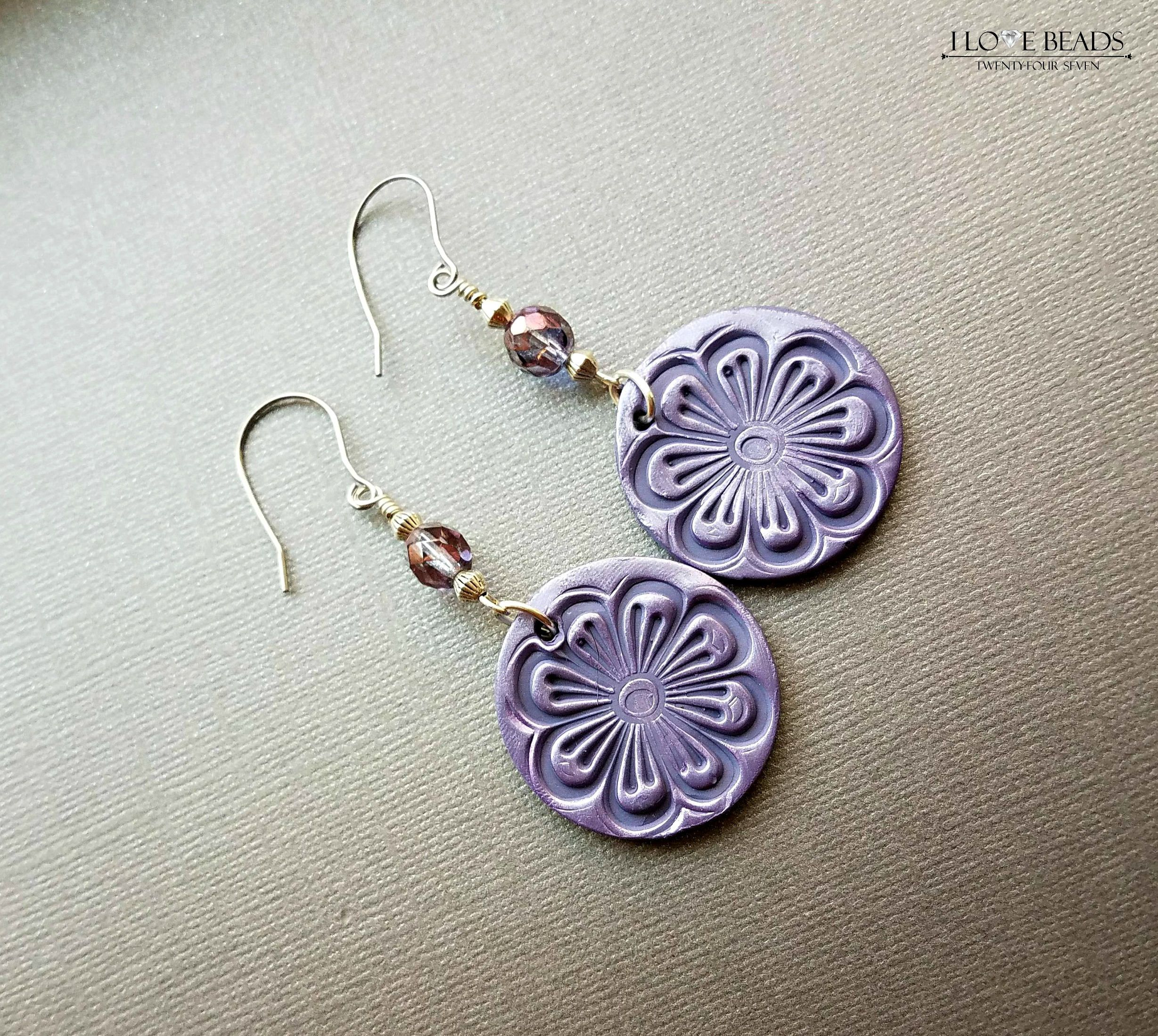 red earrings purple shourouk mian sale flower product and vand
