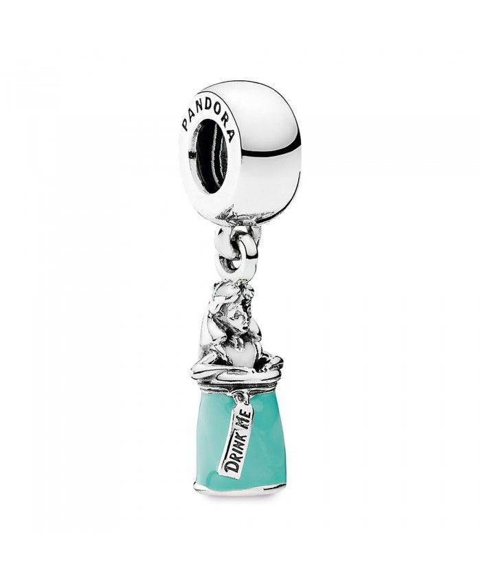 Disney Alice Bottle Charm 791897ENMX