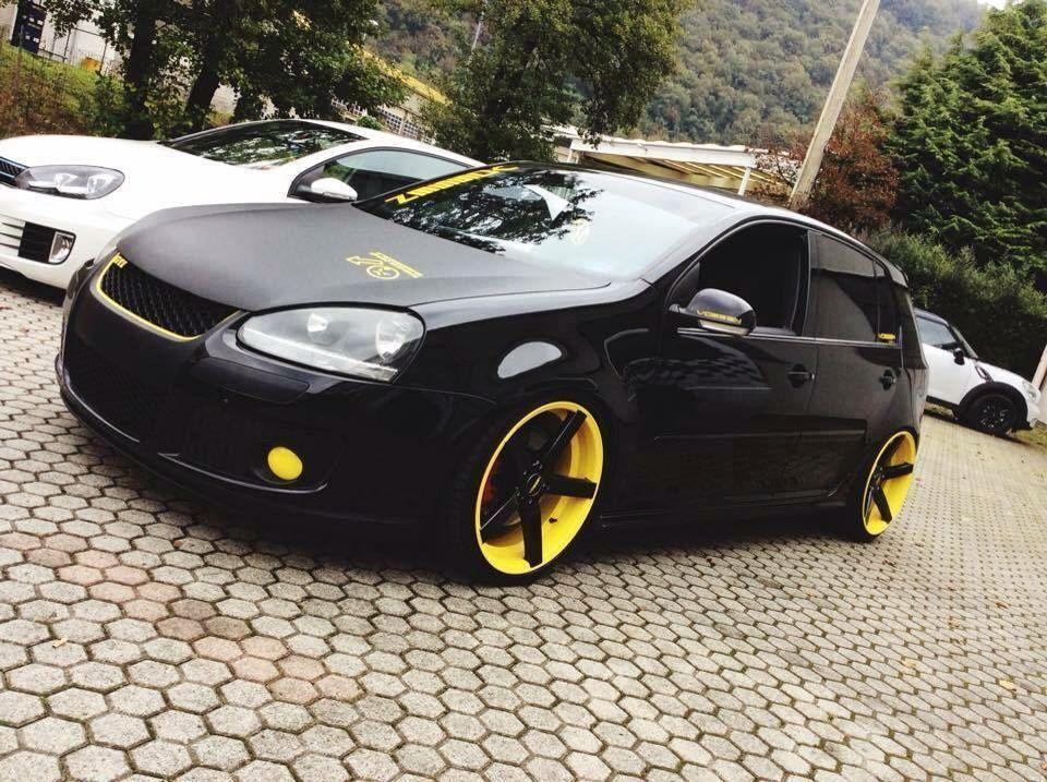Black N Yellow Golf Volkswagengolfcabriolet In 2020 Volkswagen Golf Volkswagen Polo Volkswagen Scirocco
