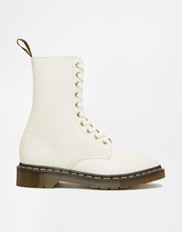 8ae612723086 Dr Martens Core Alix 10-Eye Zip White Boots