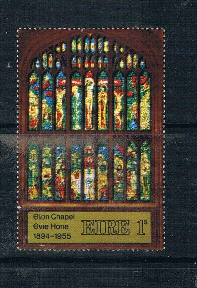 1969 Contemporary Irish Art, Evie Hone stained glass (Eton