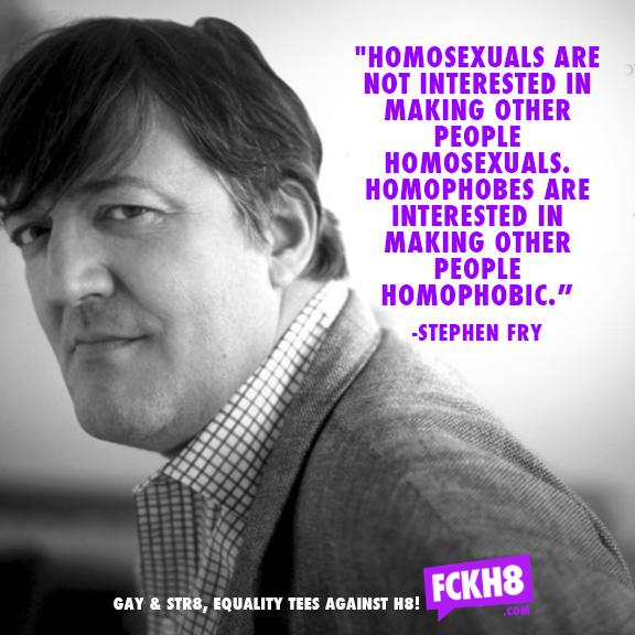 Stephen fry debate homosexuality