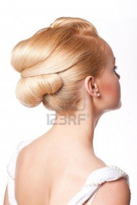 Bow Swirl Up-do Hairstyle <3 Super Cute & Pretty!