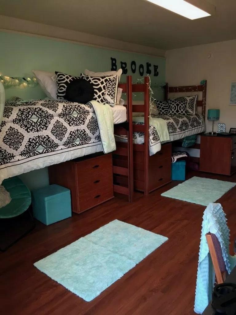28+ Fantastic Small Apartment Bedroom College Design Ideas