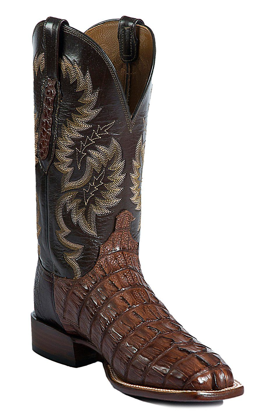 c4f9c2a94b9 Lucchese® Cowboy Collection™ Men's Cigar Giant Croc Tail Exotic ...