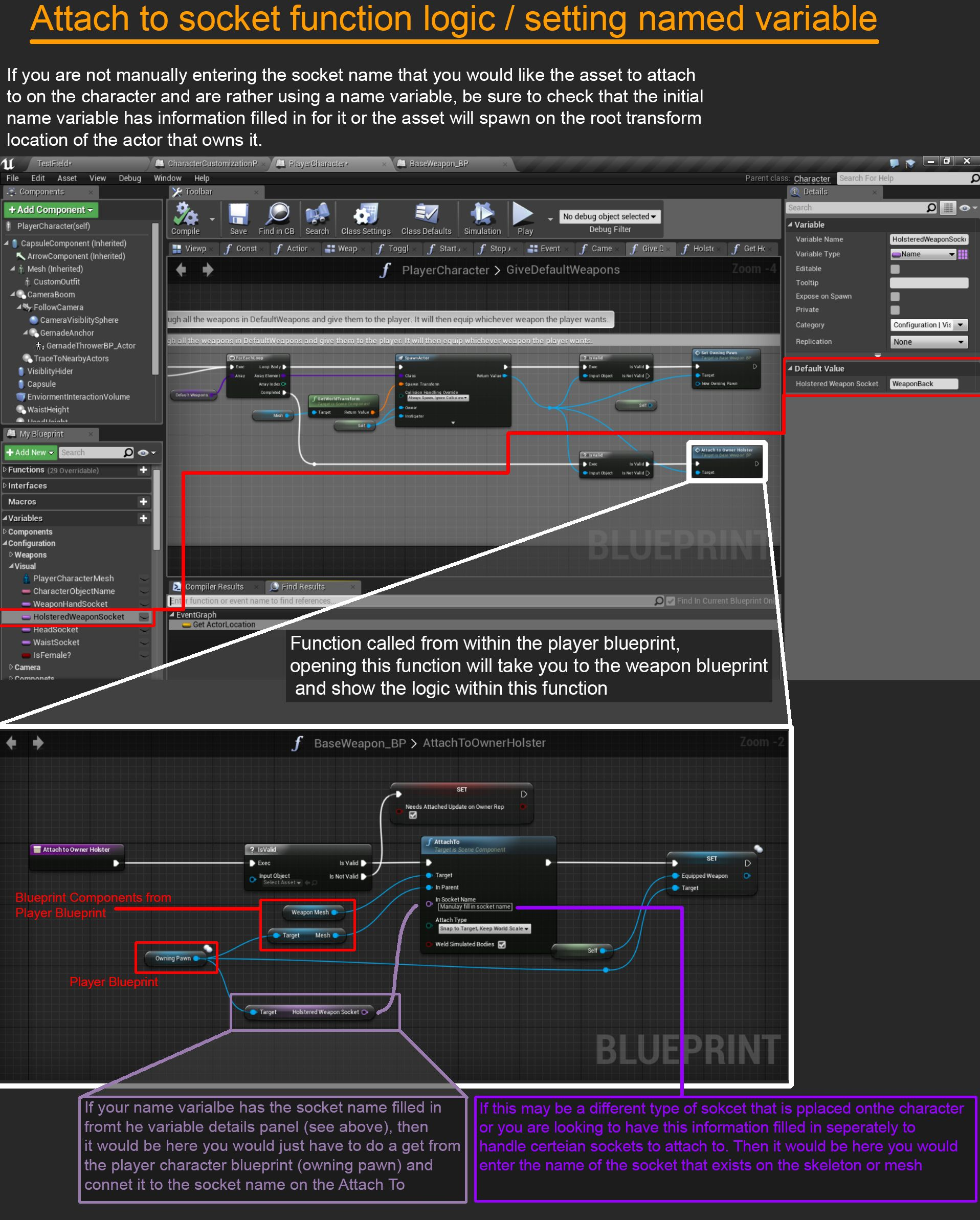 Pin by kyle dail on ue4 blueprint screengrabs pinterest unreal unreal engine malvernweather Choice Image