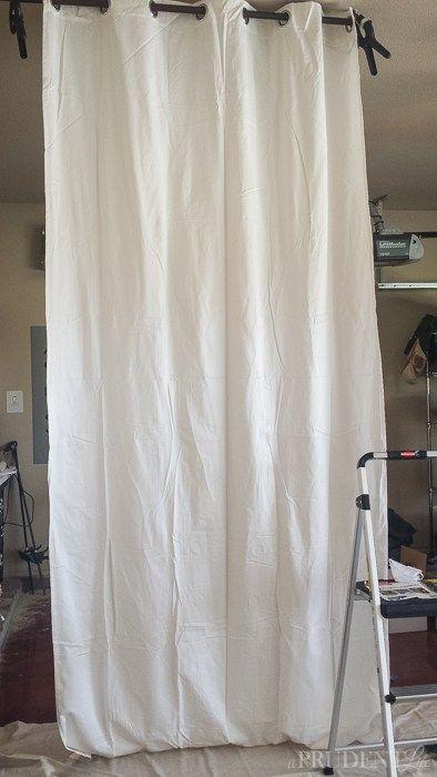 rideaux-blancs-ikea-transforme-1 | couture rideaux | Pinterest